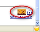Craigslist RSS icon