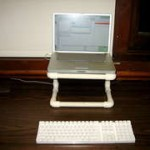 The PVC Laptop Stand
