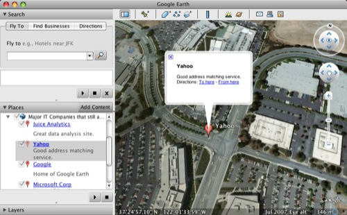 Export Excel Data to Google Earth