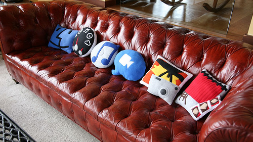 'Icon Pillow Collection' by Throwboy on Flickr
