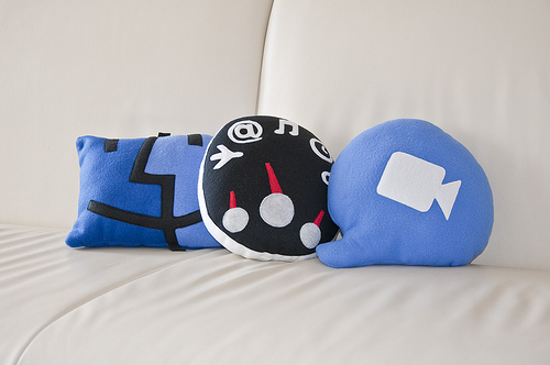 'Throwboy Pillows' by Wolfgang Bartelme on Flickr
